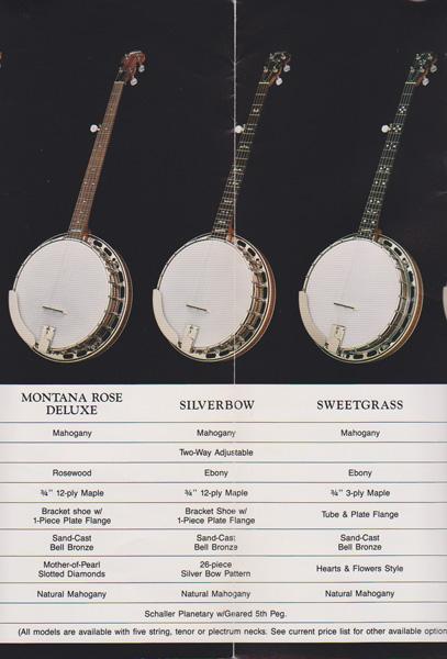 Vintage Banjo Catalogs & Literature