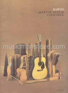 1990 VINTAGE 8X11 PRINT Ad FOR MARTIN GUITAR COMPANY SHENANDOAH MODELS ACOUSTIC