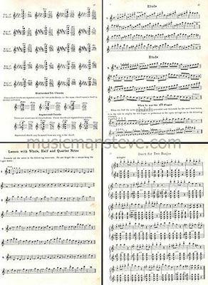 Vintage Music Folios and Out Of Print Methods in PDF Format
